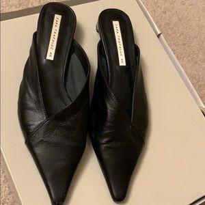 Zara slip on one inch heel .